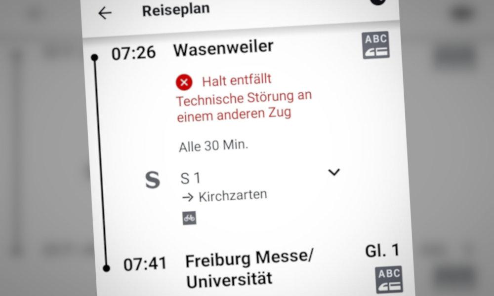 Breisgau-S-Bahn: Es wird immer schlimmer