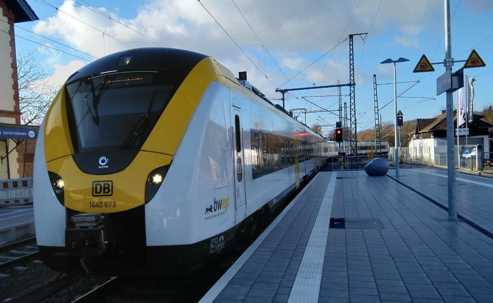 Breisgau-S-Bahn S1: So richtig passt es immer noch nicht.